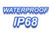 Waterproof - submersible up to 5 m