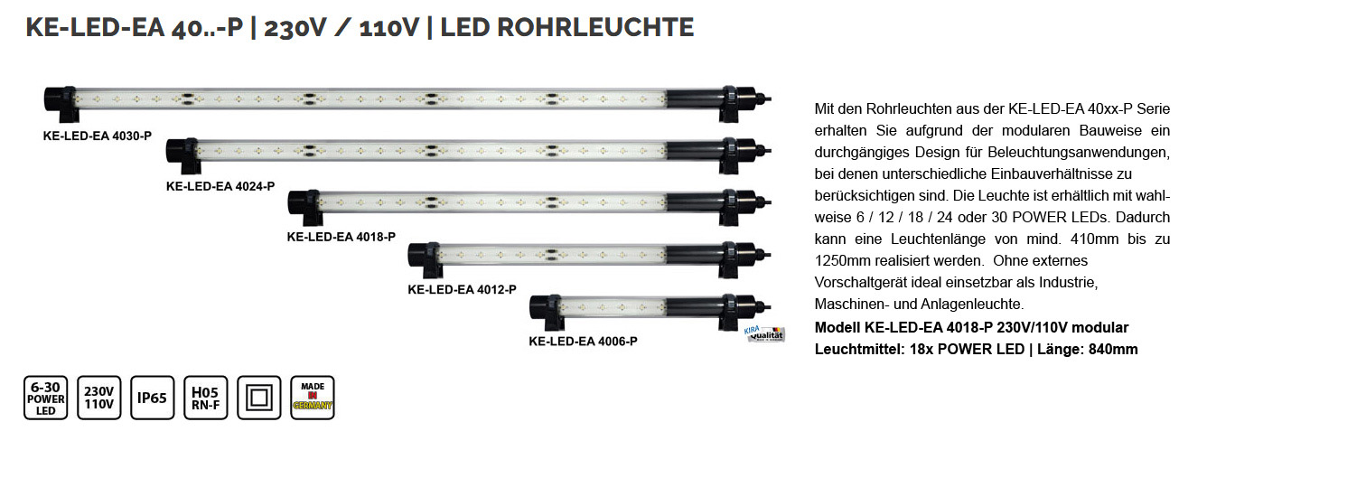 big rohr ke led ea 4018 230 110 mod