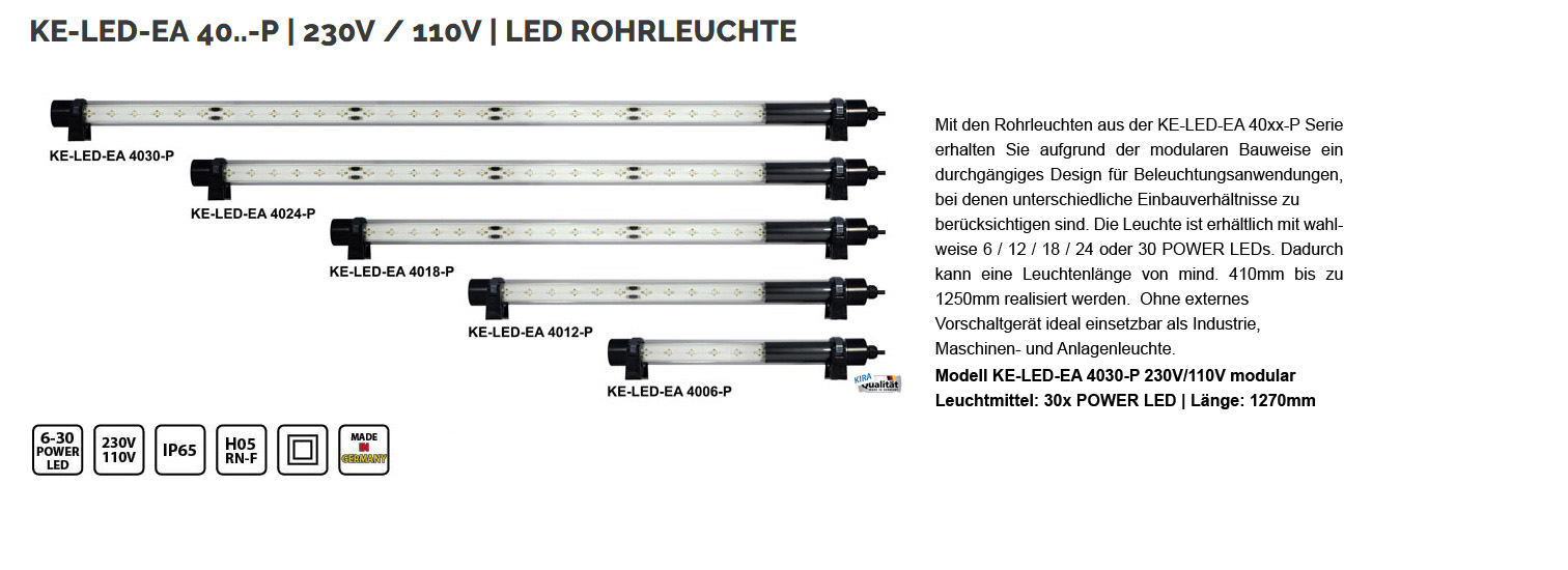 big rohr ke led ea 4030 230 110 mod